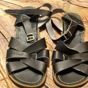 Women's dark brown salt water sandals 🌊⚓️⚓️